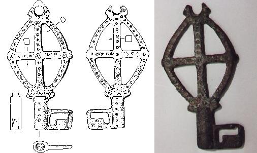 Spätmerowingischer/karolingischer Schlüssel